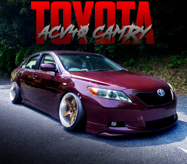 STANCED ACV40 TOYOTA CAMRY.