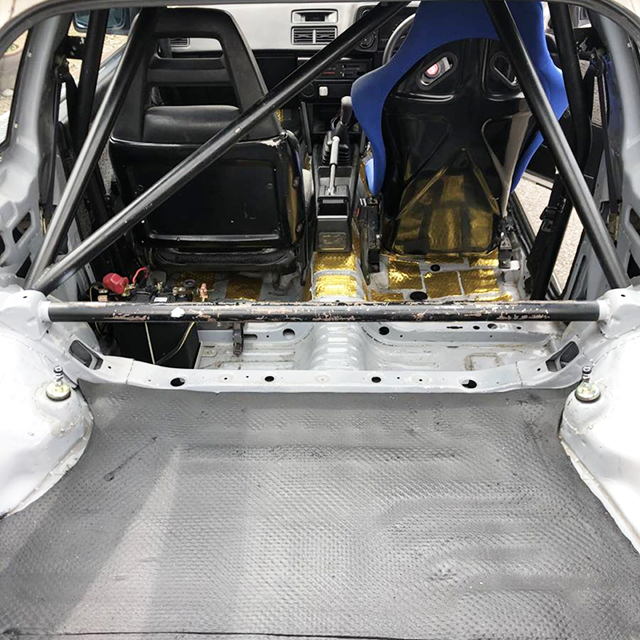 LUGGAGE SPACE OF AE86 LEVIN HATCH GTV.