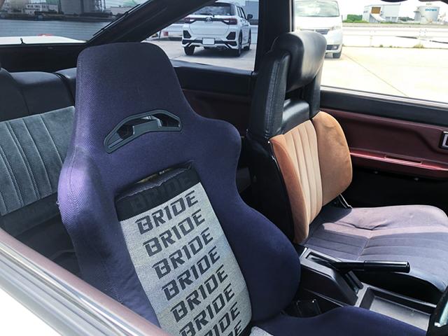 DRIVER'S BRIDE SEMI BUCKET SEAT.