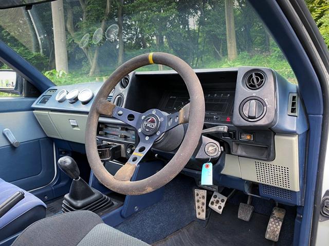 DASHBOARD OF AE86 TRUENO GT-APEX.