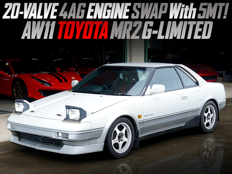 20V 4AGE SWAPPED AW11 MR2 G LIMITED.