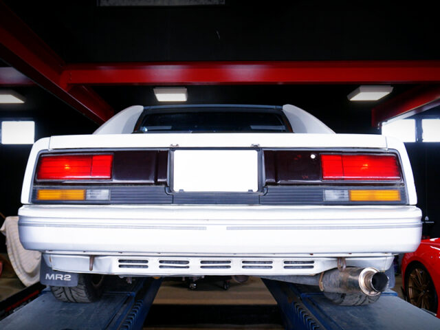 REAR TAIL LIGHT OF AW11 MR2 G LIMITED.