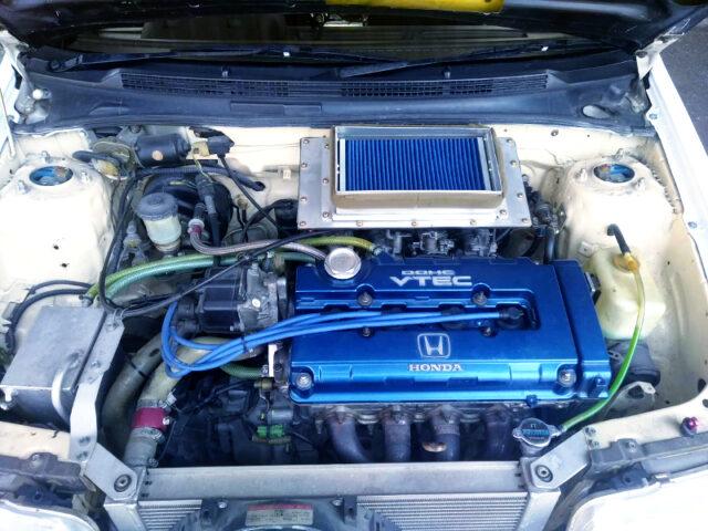 B16A VTEC ENGINE with VTEC KILLER CAM.