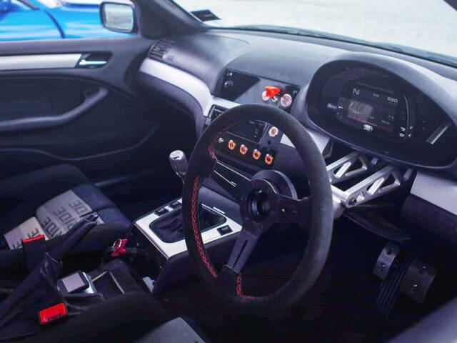 INTERIOR OF E46 BMW 318i SEDAN WIDEBODY.