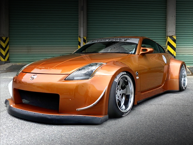 FRONT EXTERIOR OF Z33 FAIRLADY Z VERSION ST.