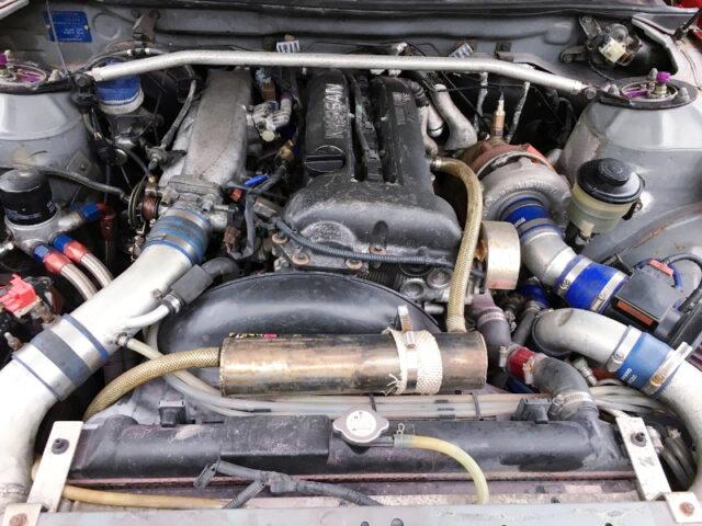 SR20DET BLACKTOP TURBO ENGINE with GT2835 TURBO.