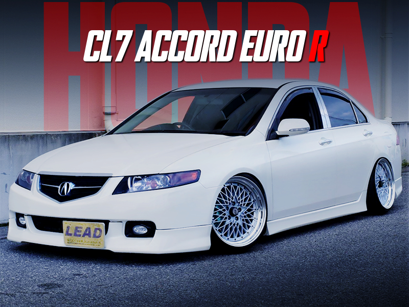 USDM and STANCE MODIFIED CL7 ACCORD EURO R.