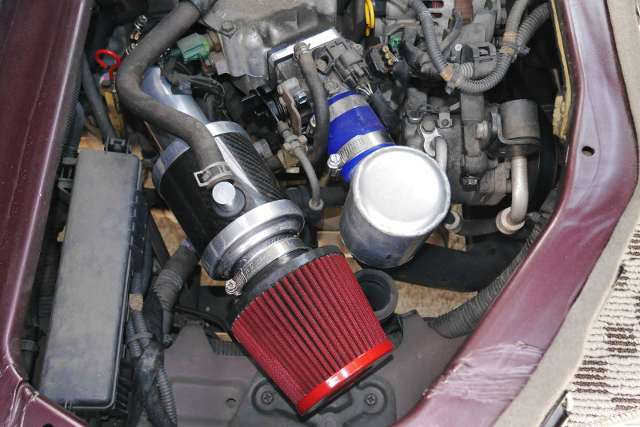 THROTTLE BODY and AIR INTAKE MODIFIED K6A TURBO.
