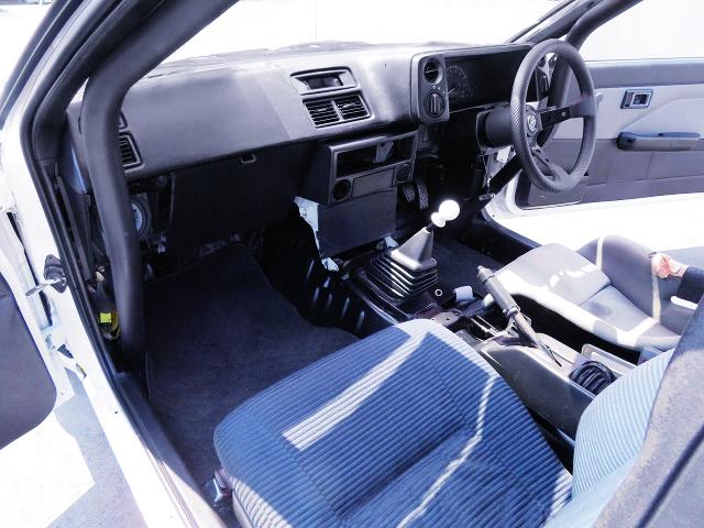 DASHBOARD OF AE86 TRUENO GTV.