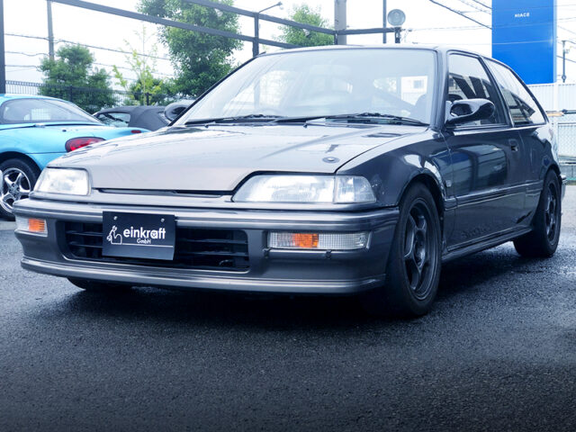 FRONT EXTERIOR OF EF9 GRAND CIVIC SiR2.