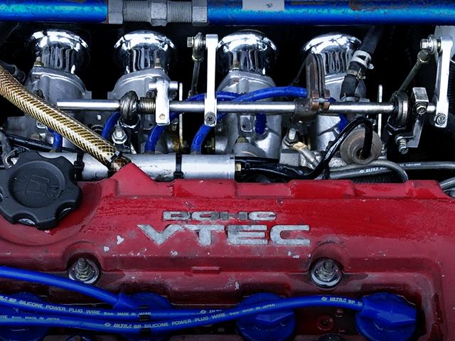 ITBs ON B16B VTEC ENGINE.