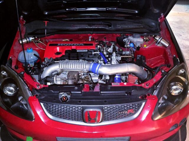 K20C VTEC TURBO ENGINE.