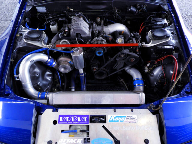 13B-T ROTARY ENGINE with TD06-25G SINGLE TURBO>