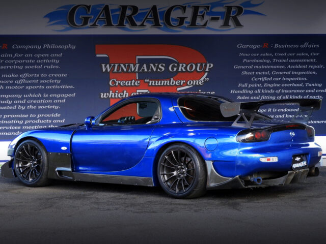 REAR EXTERIOR OF FD3S RX-7 TYPE-RB.