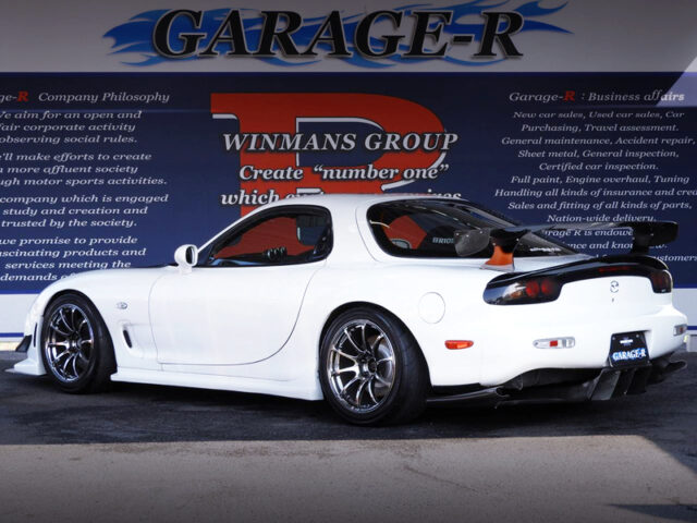 REAR EXTERIOR OF FD3S RX-7 TYPE RB.