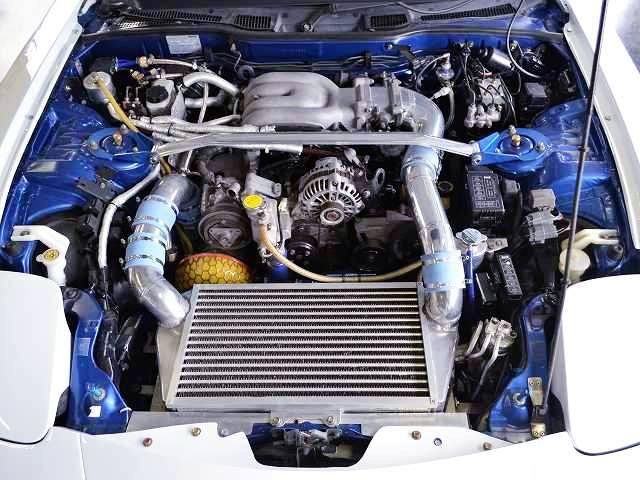 13B-REW SIDE-PORT ENGINE with TO4Z SINGLE TURBO.