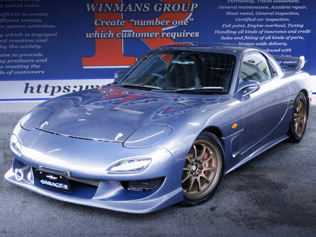 FRONT EXTERIOR OF FD3S RX7 TYPE-RS.