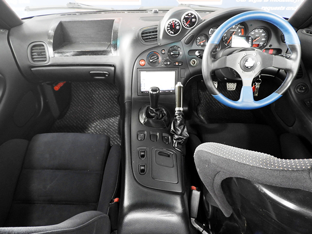 INTERIOR OF FD3S RX7 TYPE-RS.