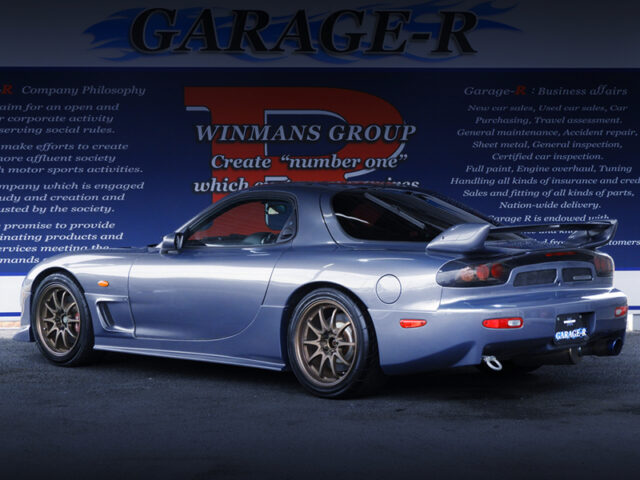 REAR EXTERIOR OF FD3S RX7 TYPE-RS.