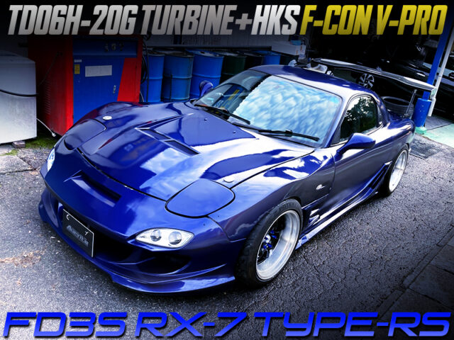 TD06H-20G TURBOCHARGED FD3S RX-7 TYPE-RS.