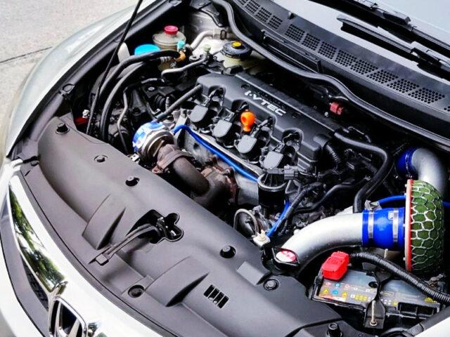 R18A 1.8L SOHC i-VTEC with TD05H-16G TURBO ENGINE.