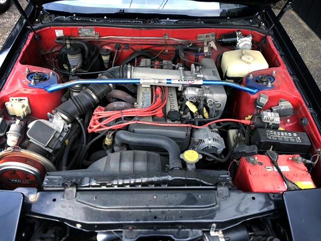 1G-GE TWINCAM 24 ENGINE.