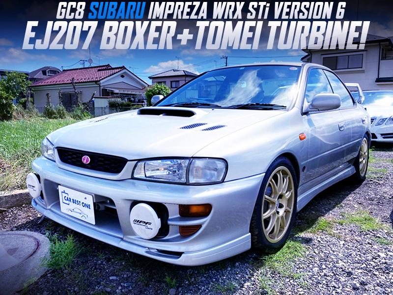 TOMEI TURBOCHARGED GC8 IMPREZA WRX STi V6.