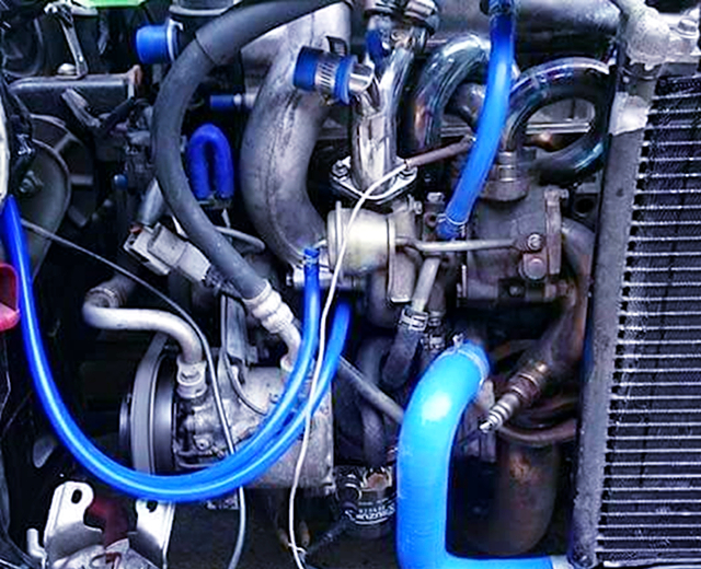 HT07 TURBO and EXHAUST MANIFOLD.