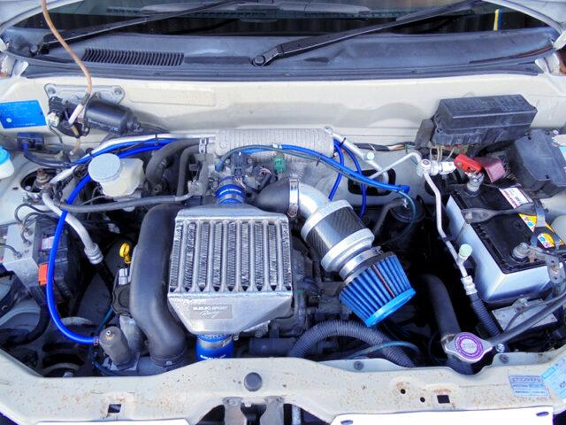 K6A TWINCAM TURBO ENGINE with SUZUKI SPORT 100PS KIT.