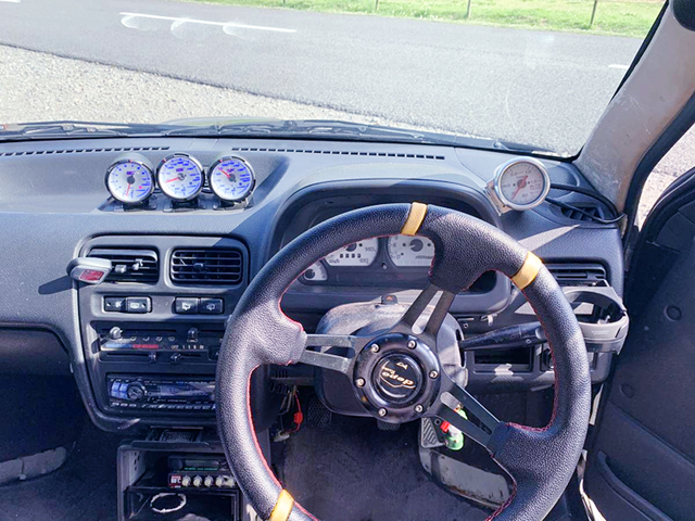 DASHBOARD and STEERING.