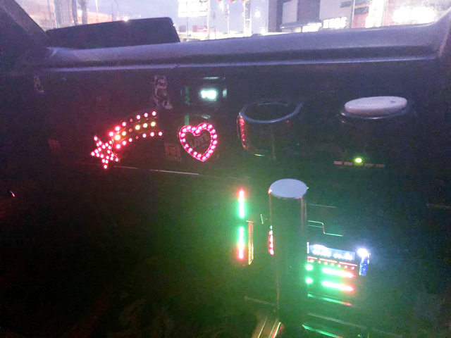 LED MODIFIED DASHBOARD.