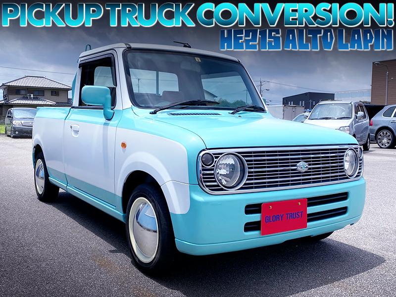 HE21S ALTO LAPIN to PICKUP TRUCK CONVERSION.