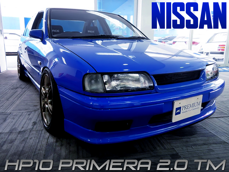 HP10 NISSAN PRIMERA Tm with BLUE PAINT.