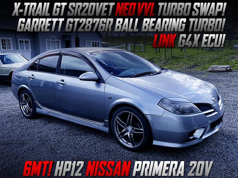 SR20VET SWAP with GT2876R TURBO and LINK G4X ECU MODIFIED HP12 PRIMERA 20V.