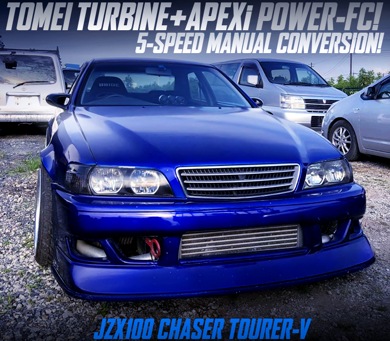 TOMEI TURBOCHARGED JZX100 CHASER TOURER-V WIDEBODY.