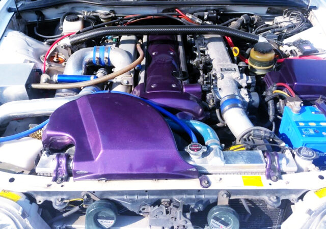 VVTi 1JZ-GTE with TOMEI TURBOCHARGER.