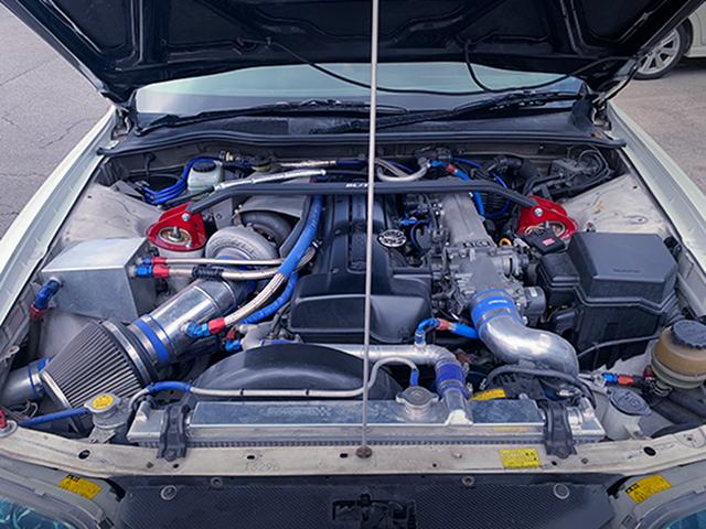 VVTi 2JZ-GTE ENGINE with TO4Z SINGLE TURBO.