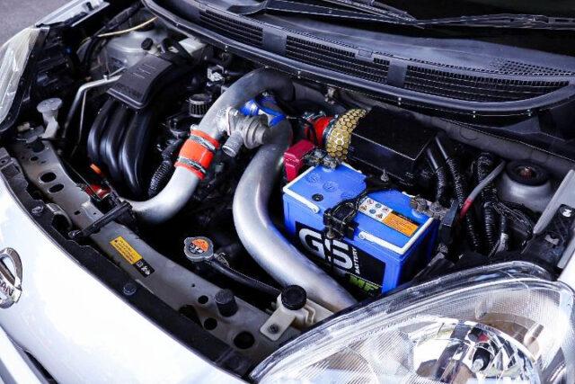 HR12DE with TURBOCHARGER.