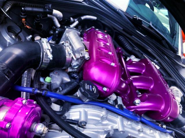VR38DETT TWINTURBO ENGINE.