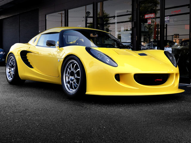 FRONT EXTERIOR OF LOTUS ELISE S2 111.
