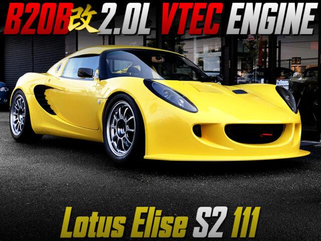 B20B 2.0L VTEC ENGINE SWAPPED LOTUS ELISE S2 111.