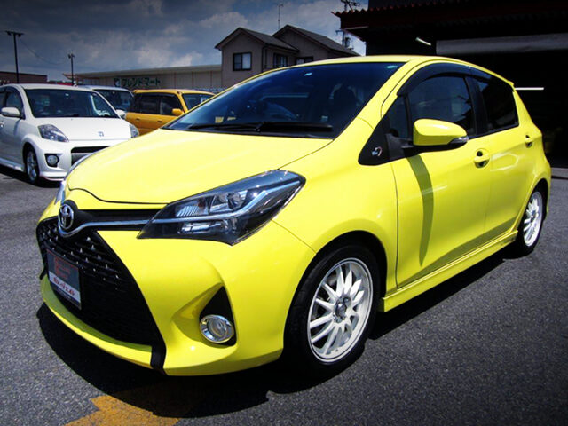 FRONT EXTERIOR OF NCP131 VITZ RS TRD RACING.