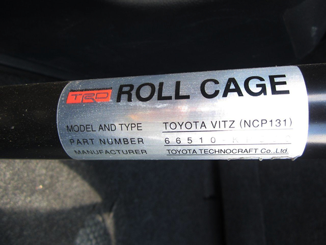TRD ROLL CAGE PLATE.
