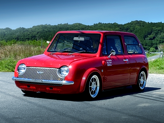 FRONT EXTERIOR OF PK10 NISSAN PAO.