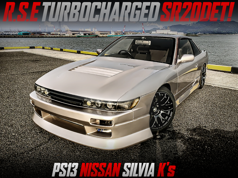 RSE TURBOCHARGED PS13 SILVIAKs With GOLD PAINT.