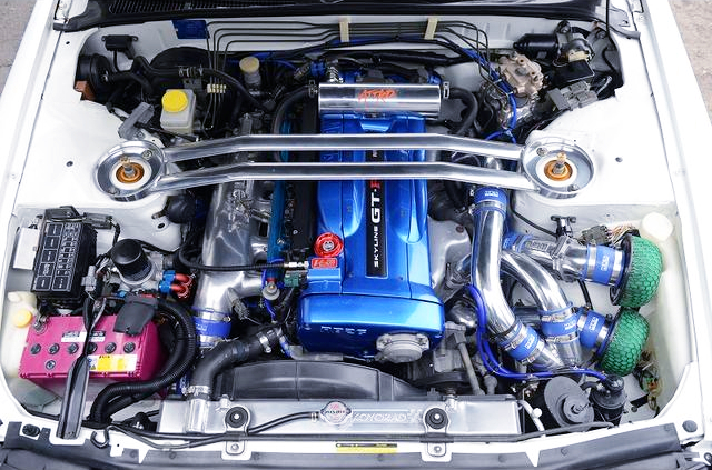 RB26 With 2.7L STROKER and T517Z 8cm TWINTURBO.