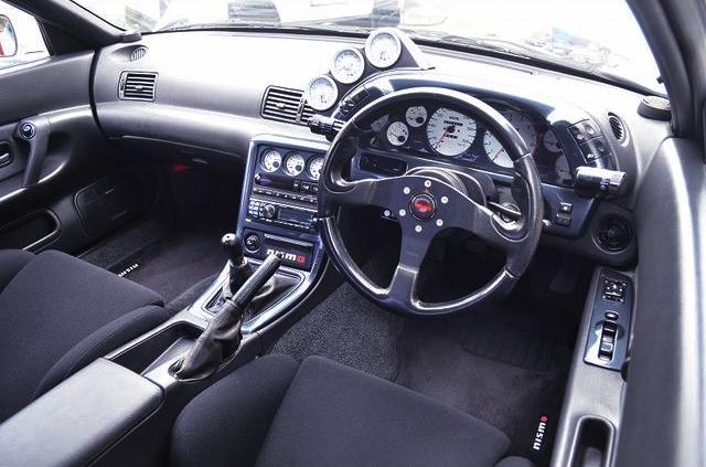 CUSTOM DASHBOARD OF R32 GT-R.