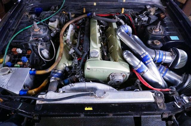 RB26DETT with TRUST T517Z TWIN TURBO.