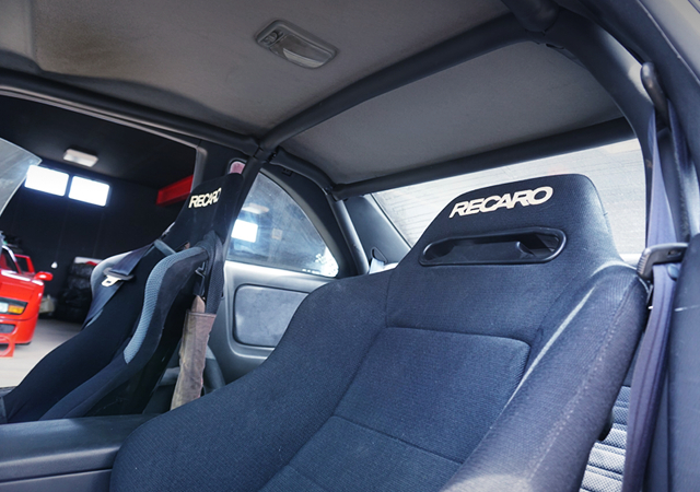 RECARO SEATS and ROLL CAGE.