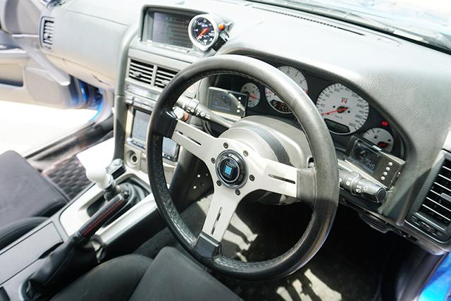 DASHBOARD OF R34 GT-R.